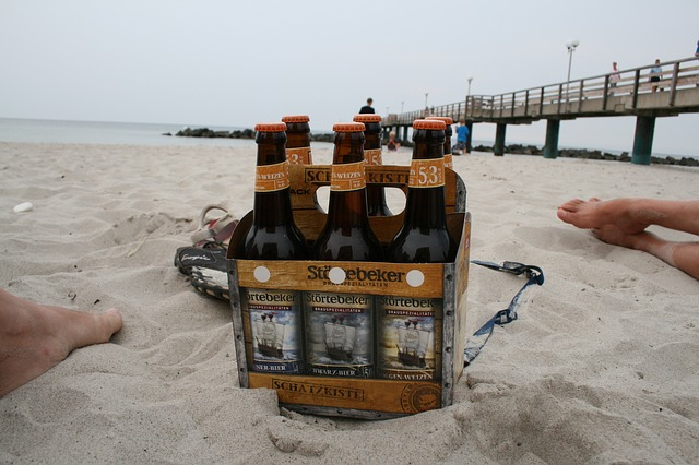 California beaches and beer