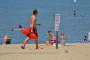 beach lifeguard workout