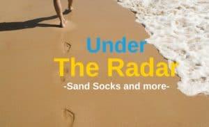 sand socks and under the radar beach gear