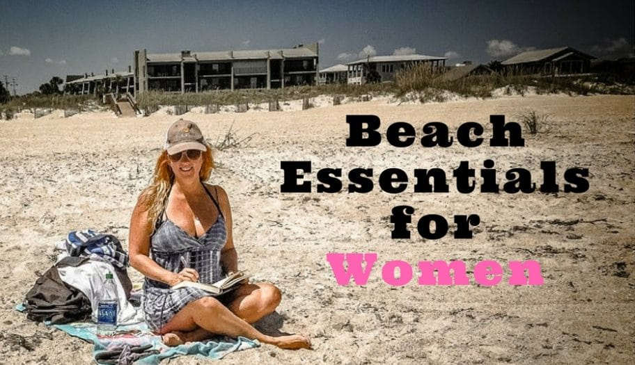 beach essentials for women - what to pack for beach
