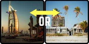 Beach house vs Beach hotel pros and cons