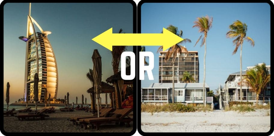 Beach house vs Beach hotel pros and cons