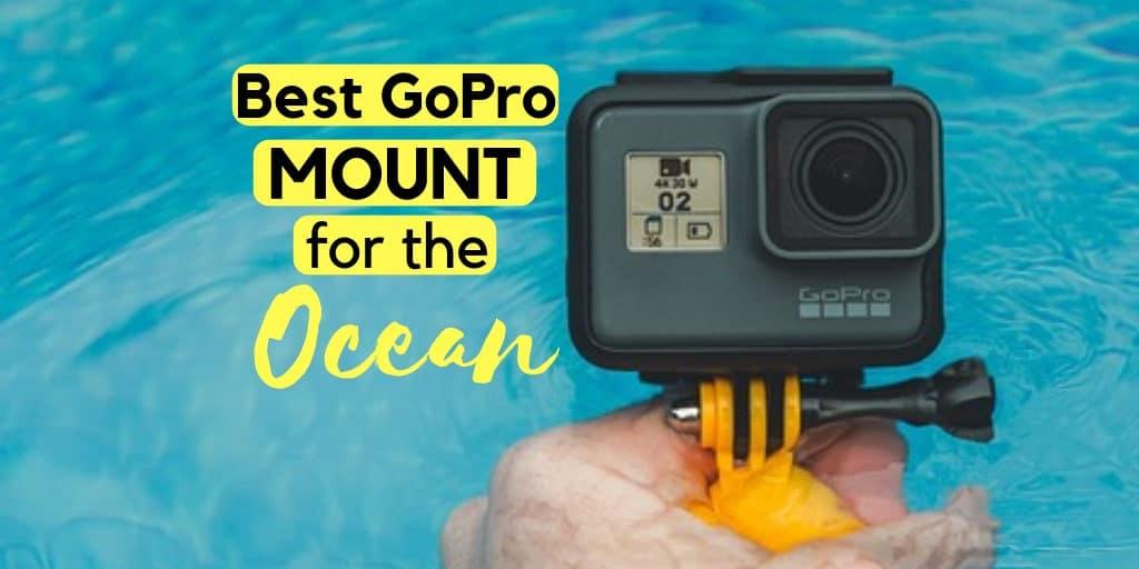Best GoPro mount for diving mask, snorkeling, scuba