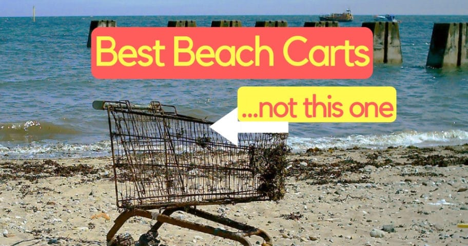 Best beach cart and wagon for soft sand