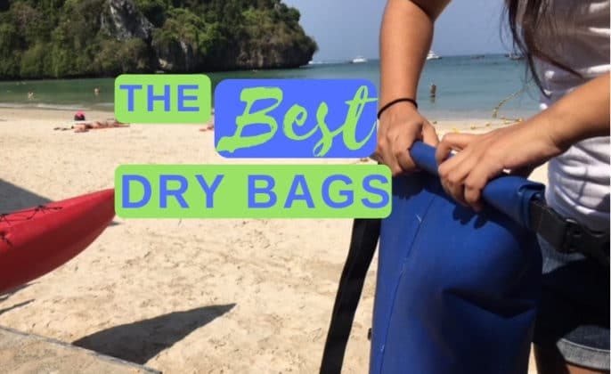 Best dry bag for SUP, boats, kayaking, and the beach