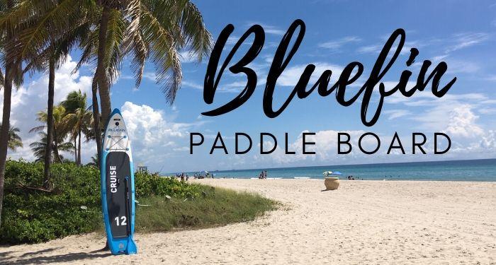 Bluefin paddle board