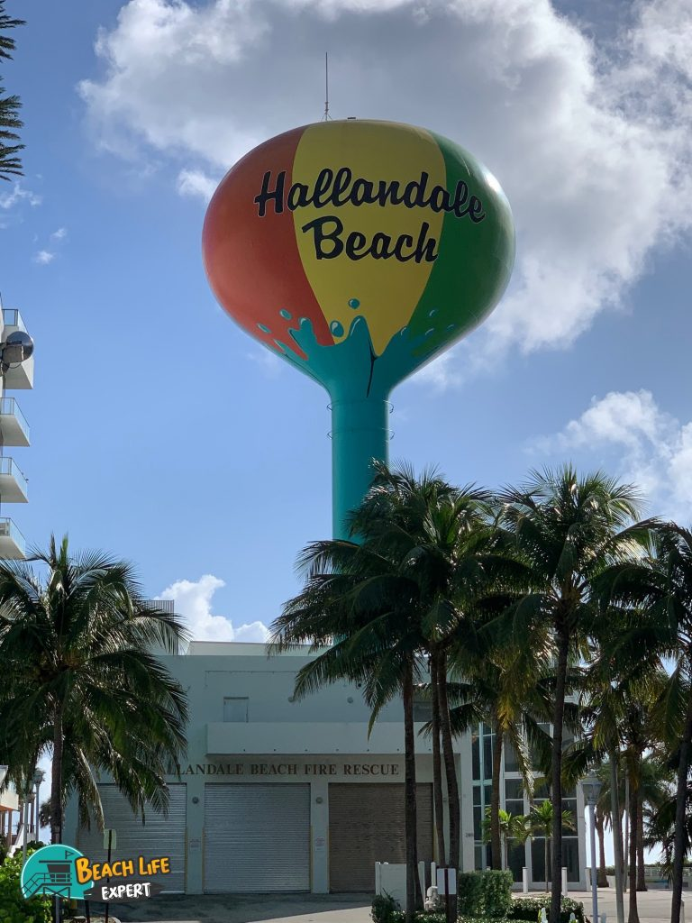 Hallandale Beach water tower